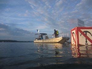 Bootsausfahrten zur Tauchglocke